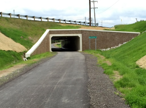 Akron-Cleveland Rd Bridge Tunnel, July 2015