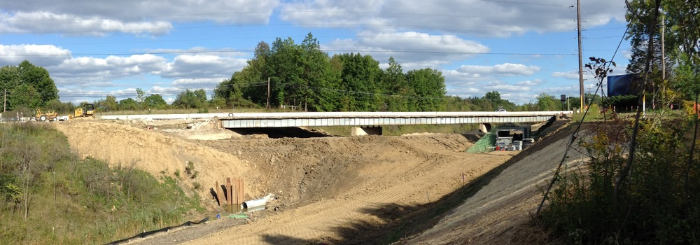 Akron-Cleveland Rd Bridge Replacement, 9/14/2014
