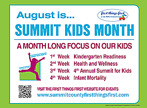 Summit Kids Month, August 2013